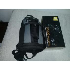 Nikon D5100 + Lente 55~200+grip + 2 Baterias +jy610+mochila
