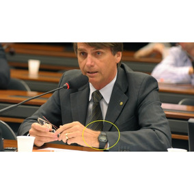 73777c11f1b Relogio Bolsonaro 2018 - Relógio Masculino no Mercado Livre Brasil