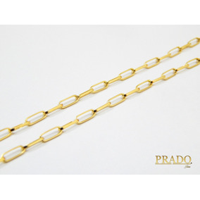 f3b50e816d5 Prado Joias Em Ouro 18k 750 - Colar no Mercado Livre Brasil
