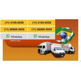 Mudança E Carreto Zona Sul /sp Confira. (11)4105-0559