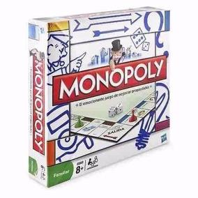 Monopoly Hasbro Original Juego De Mesa Popular Rosario
