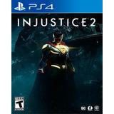 Injustice 2 Ps4 Digital Gcp