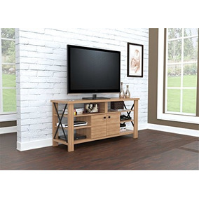 Inval America Mtv 14119 Wood 60 Tv Stand In