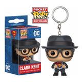 Pocket Pop Clark Kent Superman Dc Funko Keychain