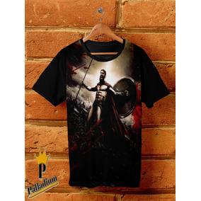 Camisa Camiseta 300, Rei Leonidas