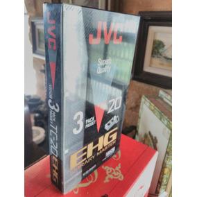 Fita Vhs Adaptador Jvc Pack 3 Unidades Ehg Library Master