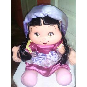Boneca Rosinha Manga Baby Multbrink Rara 38cm