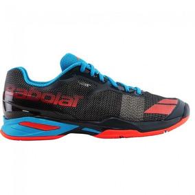 Tênis Babolat Jet All Court Junior - Cinza/vermelho/azul