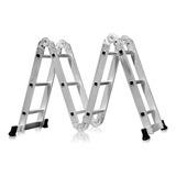 Escada Multifuncional 12 Degraus Aluminio