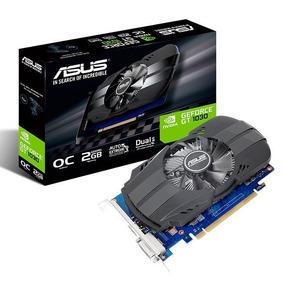 Placa De Video Asus Geforce Gt 1030 2gb Ddr5 Phoenix Fan Oc