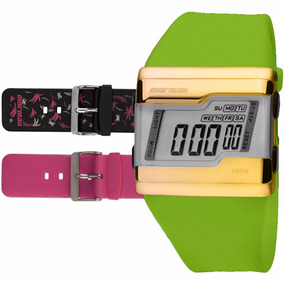 Pulseira Relogio Mormaii Acquarela - Relógios no Mercado Livre Brasil 619100682d