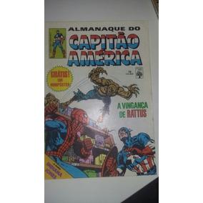Almanaque Do Capitão América Número 75 Com O Pôster