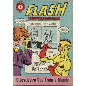Hq Flash O Homem Relâmpago 1968 Nº 10