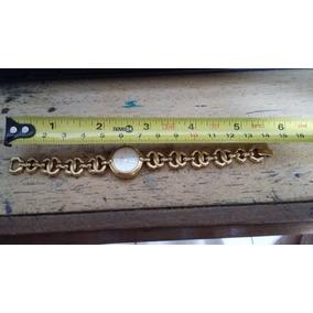 Lindo Relógio Bulova Quartz Foleado A Ouro Original