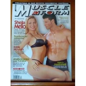 Revista - Muscle In Form - Scheila Mello