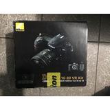 Cámara Nikon D500 Con Lente 16-80 Mm. Nueva. Leo Ofertas.