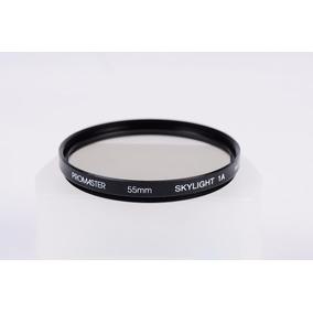 Filtro Uv 55mm Skylight 1a Promaster, Para Nikon, Canon