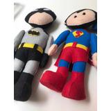Super Heróis Em Feltro Enfeite De Mesa Festa Usado