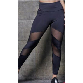 95390d7ba Calça Legging Leg Academia Com Detalhe Em Tule + Brinde