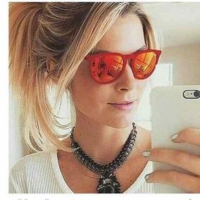c1c49bace32fe Ray Ban Erika Vermelho - Óculos no Mercado Livre Brasil