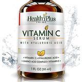 Suero Anti-edad De Vitamina C Para Cara Con Ácido Hialuró