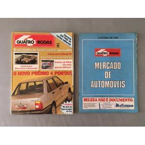 Revista Quatro Rodas - Janeiro 1987 - Nº 318 Prêmio Monza