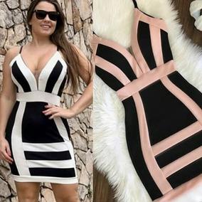 cbe05c6eb Vestido Crepe - Vestidos Casuais Femininas no Mercado Livre Brasil