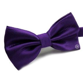 Corbata De Moño Clasico Para Hombre Grin Accs Color Morado