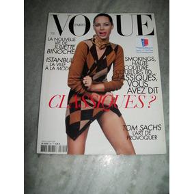 Revista Vogue Paris Nº 891 - Christy Turlington - 10/2008