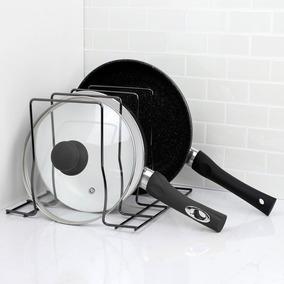 Rack Organizadoer Para Tapas Metal Cocina Good And Good