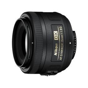 Lente Af-s Dx Nikkor 35mm F/1.8g Gran Angular Nikon