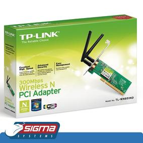 Tarjeta Pci Inalámbrica N300 Mbps Tp-link Tl-wn851nd