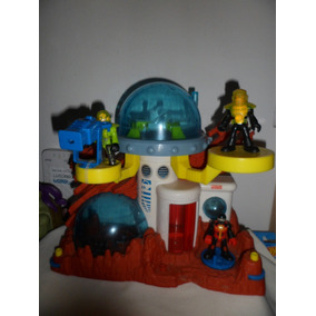 Estação Lunar Espacial Usado Imaginext Da Fisher Price