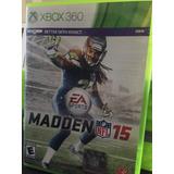 Madden 15 Xbox 360 Seminuevo
