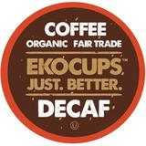 Ekocups Café Descafeinado Orgánico Artesanal, Asado Livia