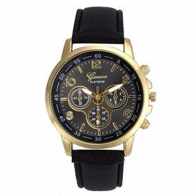 ebdb2555840 Relogio Masculino Barato Bonito Couro - Relógios no Mercado Livre Brasil