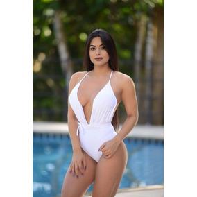 Body Feminino /blusa / Maio Com Decote Na Frente