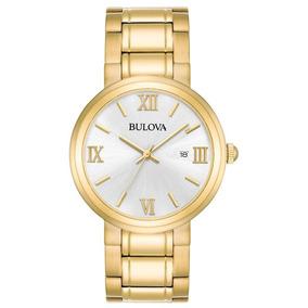 258797017ea Relógio Bulova Feminino Classico Dourado - Wb26146h - 97b158
