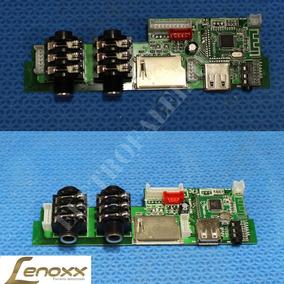 Placa Usb Para Caixa Amplificada Lenoxx Modelo Ca318
