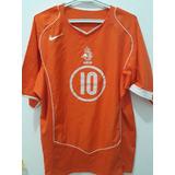 Camisa Holanda #10 Van Nistelrooy Original Clásica