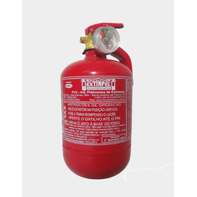 Extintor De Incêndio - Extinpel - Pó Abc 4 Polegadas - 1kg