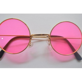 Óculos John Lennon Espelhado Rosa De Sol - Óculos no Mercado Livre ... 0c2f9c9ce2