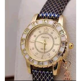 Azul Dorado Reloj Sicodelico
