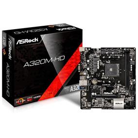 Proc Amd Athlon 200ge 3.2ghz + Mb A320m-hd + Mem Ddr4 4gb