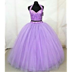 Cros Top Vestido De Xv Años Color Lila Envío Gratis