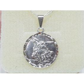 91c132af2d149 Medalha São Miguel Arcanjo Folheados A Ouro - Joias e Relógios no ...
