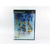 Kingdom Hearts 2 Final Mix+ Ps2 Etiqueta Negra 1era Edición