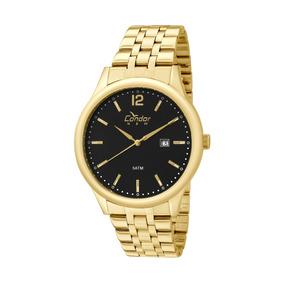 Relógio Condor Masculino Dourado Copc32ao
