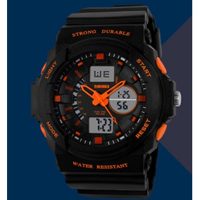 ed219b3cee0 G Shock Laranja Esportivo - Relógios De Pulso no Mercado Livre Brasil