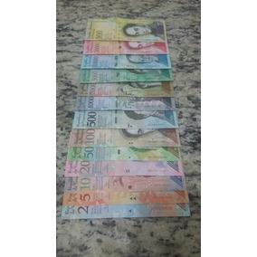 2 Set Fechado De Cédulas Da Venezuela Com 13 Unidades Fe.